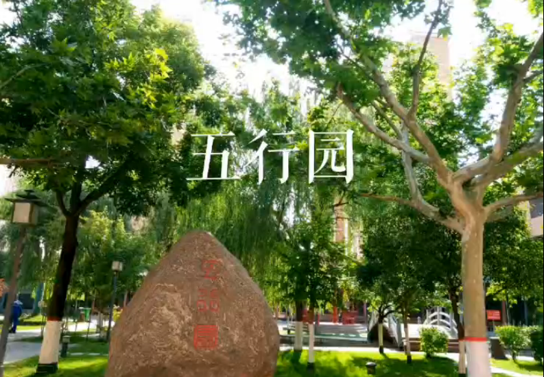 陕西医史博物馆之五行园