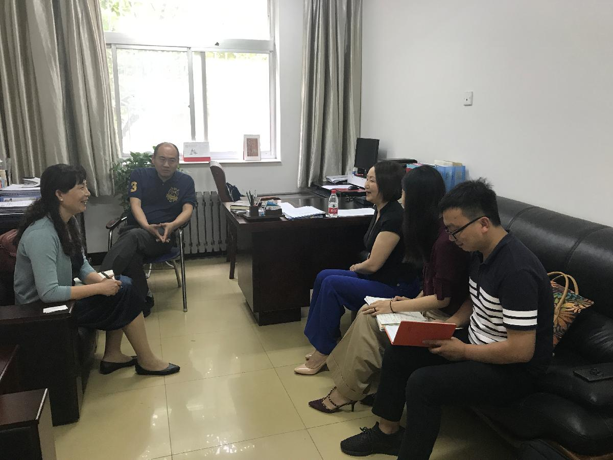 美国教育交流协会中国代表处执行长宋蔚女士一行来我校访问