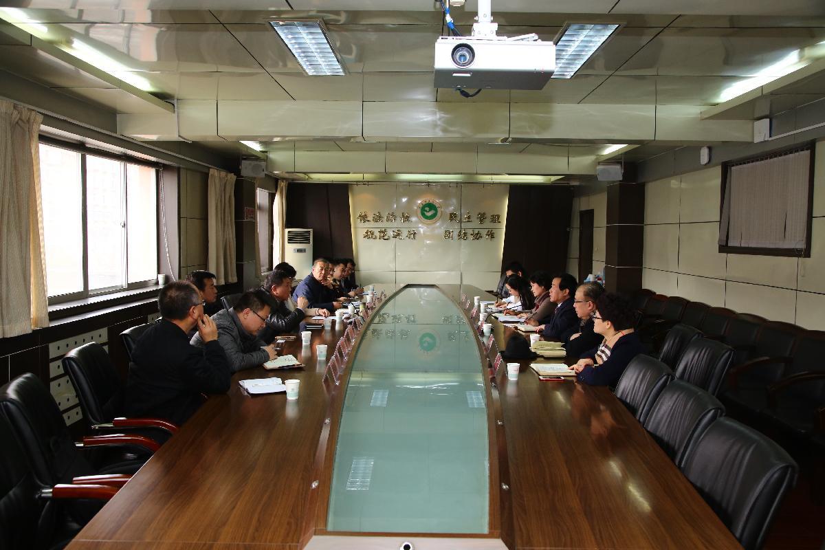 陕西省友好城市建设工作专题调研组来我校调研