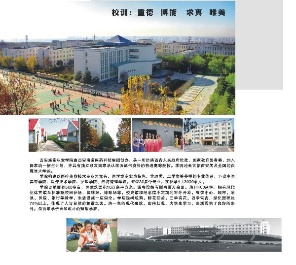 西安海棠职业学院招聘简章