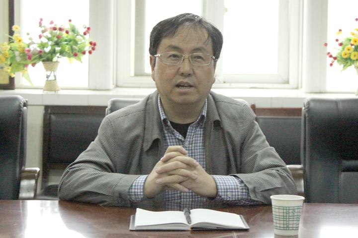 副校长王瑞辉带领学科办人员深入院...