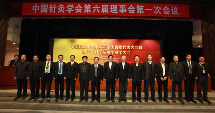 我校副校长刘智斌教授连任中国针灸学会副会长