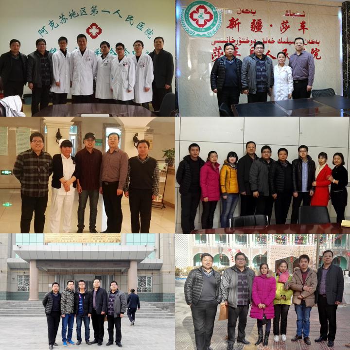 我校就业指导中心远赴新疆开展就业回访