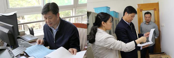 党委书记刘勤社到药学院指导检查工作