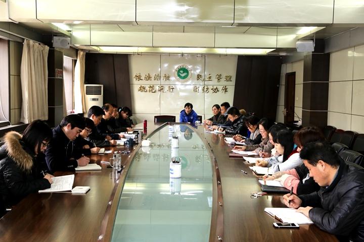 刘勤社同志以普通党员身份参加党委校长办公室支部组织生活会