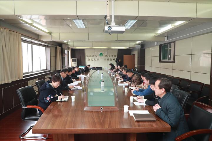 省委教育工委组织部部长郭强一行来校调研指导基层党建工作