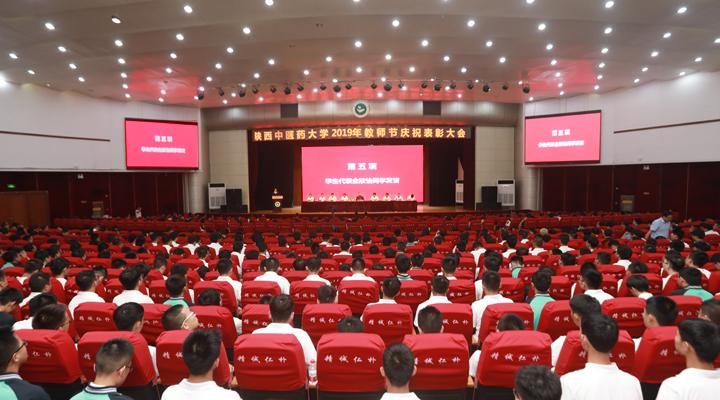 我校召开庆祝2019年教师节暨表彰大会