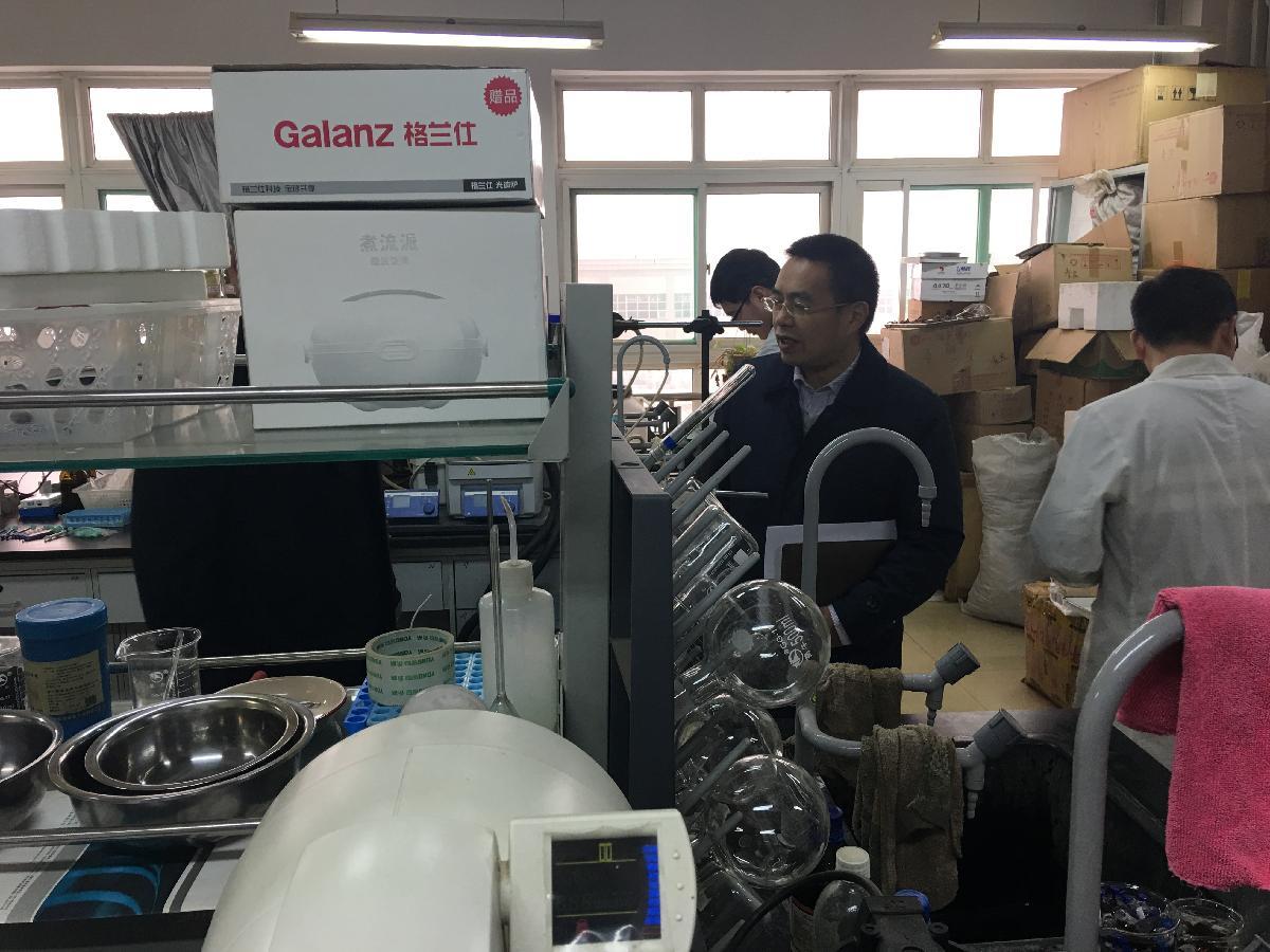 药学院2018年春节放假前实验安全检查
