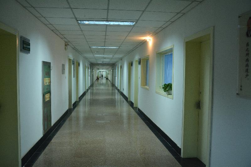 医学科研实验中心走廊